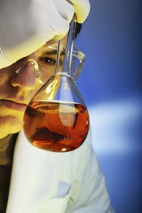 Contact manufacturing of polymers and fine chemicals