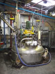 Stainless Steel Reactor used in Chemical Manufacturing