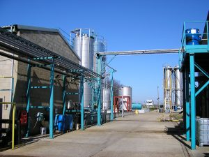 Contract Chemical Manufacturing Facilities in Mildenhall, Suffolk. UK
